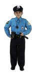 Police Child Costume - Includes: Cap with Badge, Shirt/Pants with official looking patches. Also includes an Accessory Pack which includes-Duty Belt with Radio, Baton, Hand Cuffs, Whistle and ID Wallet.