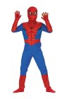 Spiderman Comic Child Costume - Includes: Printed bodysuit and the mask. The mask is not like in this image  The Mask is the same as the style #DG5934W (please see the style #DG5934W for the mask).