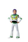 Toy Story Buzz Lightyear Child Costume - Deluxe costume includes: Bodysuit with attached chest piece, hood and spats.