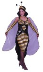 Queen Bee Adult Costume - Includes: Dress, Overdress, Wings, Sleevelets and Headpiece.