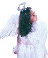 Feather Angel Wings (Child Size) - Feather wings hand made from real feathers, they are held on comfortably with shoulder straps. 36 inches wide and 12 inches high.