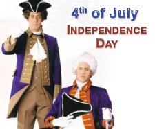 4th July is Independence day of United States of America. We at Halloween Costume Sale carry a range of Independence day related costumes like statue of liberty costume, Uncle Sam costumes, Unlce Sam Hat, Masks of President Lincoln, Bush, Nixon, Washington, American Flag costume and many more patriotic costumes and Independence day costumes to choose from.