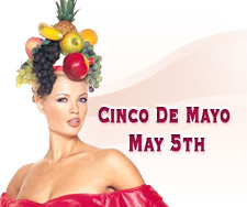 Cinco de Mayo (The Fifth of May in Spanish) commemorates the victory of Mexican forces over the French occupational forces on May 5, 1862. At Halloween Costume Sale we have a good selection of Mexican Costumes, Spanish dancer costume, Zorro Costumes and more. Choose from a range of kids costume or an adult costume, or a pet costume!