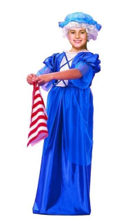 COLONIAL LADY CHILD COSTUME
