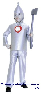 TIN MAN COSTUME, CHILD