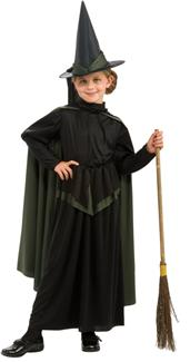 WIZ OF OZ WICKED WITCH CHILD COSTUME