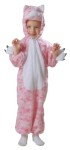Kitty Plush Child Costume - Precious costumes for your little ones!  Includes: full body jumpsuit with zipper fornts and foam filled character hands attached!
