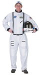 "Adult Astronaut Costume - You cant get more real than our Astronaut Suit. Its top quality and official look makes it seem like it is real. Costume includes NASA jumpsuit, official NASA patches, including special commander patch, and official looking embroidered NASA cap. Helmet sold separately. Large approximately Sizing: 170lbs to 220 lbs. And 5 8"" to 6 2"" tall."